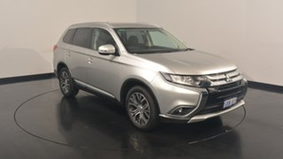 2017 Mitsubishi Outlander ZK MY17 LS 2WD Sterling Silver 6 Speed Constant Variable Wagon.