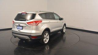 2013 Ford Kuga TF Titanium PwrShift AWD Silver 6 Speed Sports Automatic Dual Clutch Wagon