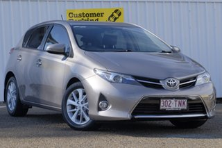 2013 Toyota Corolla ZRE182R Ascent Sport S-CVT Bronze 7 Speed Constant Variable Hatchback.