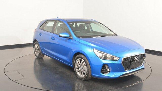 New Hyundai i30 PD MY18 Active, 2018 Hyundai i30 PD MY18 Active Marina Blue 6 Speed Sports Automatic Hatchback