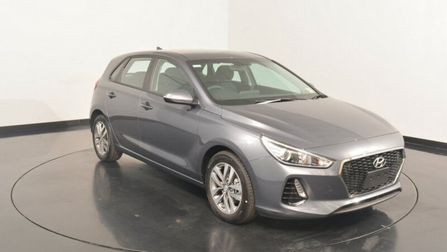New Hyundai i30 PD MY18 Active, 2018 Hyundai i30 PD MY18 Active Iron Grey 6 Speed Sports Automatic Hatchback