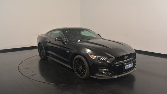 Used Ford Mustang FM MY17 GT Fastback SelectShift, 2017 Ford Mustang FM MY17 GT Fastback SelectShift Shadow Black 6 Speed Sports Automatic Fastback