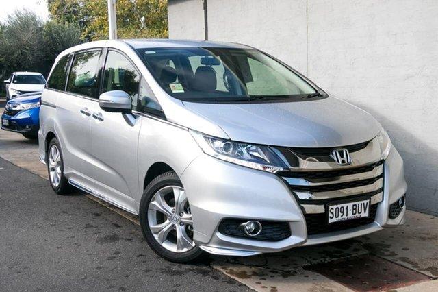 Demo Honda Odyssey RC MY18 VTi, 2018 Honda Odyssey RC MY18 VTi Super Platinum 7 Speed Constant Variable Wagon