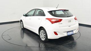 2013 Hyundai i30 GD Active Creamy White 6 Speed Manual Hatchback.
