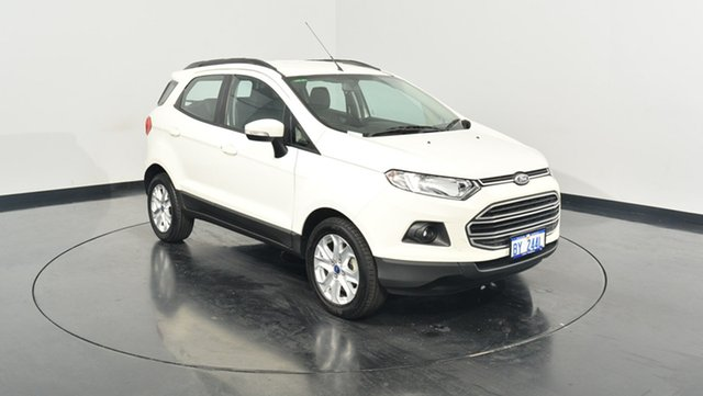 Used Ford Ecosport BK Trend PwrShift, 2015 Ford Ecosport BK Trend PwrShift White 6 Speed Sports Automatic Dual Clutch Wagon