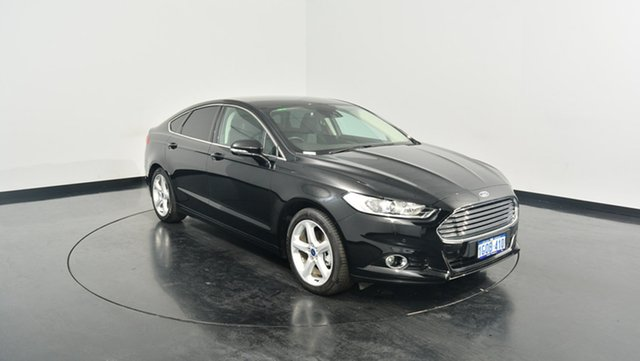 Used Ford Mondeo MD 2017.50MY Trend SelectShift, 2017 Ford Mondeo MD 2017.50MY Trend SelectShift Shadow Black 6 Speed Sports Automatic Hatchback