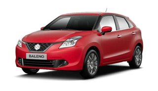 2016 Suzuki Baleno EW GLX Turbo Fire Red 6 Speed Sports Automatic Hatchback.