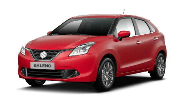 Demo Suzuki Baleno EW GLX Turbo, 2016 Suzuki Baleno EW GLX Turbo Fire Red 6 Speed Sports Automatic Hatchback