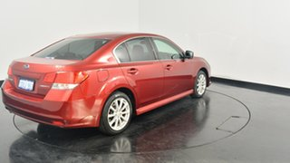 2011 Subaru Liberty B5 MY11 2.5i Lineartronic AWD Red 6 Speed Constant Variable Sedan