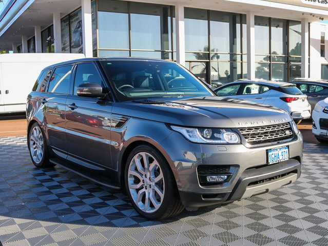Used Land Rover Range Rover Sport L494 17MY TdV6 CommandShift SE, 2017 Land Rover Range Rover Sport L494 17MY TdV6 CommandShift SE Grey 8 Speed Sports Automatic Wagon