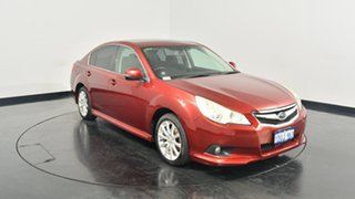 2011 Subaru Liberty B5 MY11 2.5i Lineartronic AWD Red 6 Speed Constant Variable Sedan.