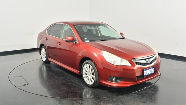 Used Subaru Liberty B5 MY11 2.5i Lineartronic AWD, 2011 Subaru Liberty B5 MY11 2.5i Lineartronic AWD Red 6 Speed Constant Variable Sedan