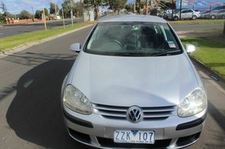 2004 Volkswagen Golf V Trendline Tiptronic Silver 6 Speed Sports Automatic Hatchback.
