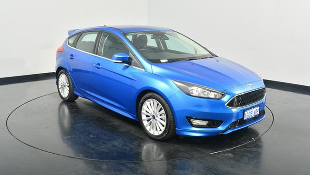 Used Ford Focus LZ Sport, 2017 Ford Focus LZ Sport Winning Blue 6 Speed Automatic Hatchback
