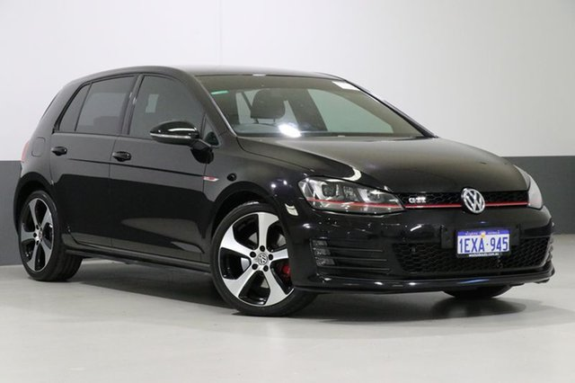 Used Volkswagen Golf AU MY15 GTi, 2015 Volkswagen Golf AU MY15 GTi Black 6 Speed Manual Hatchback