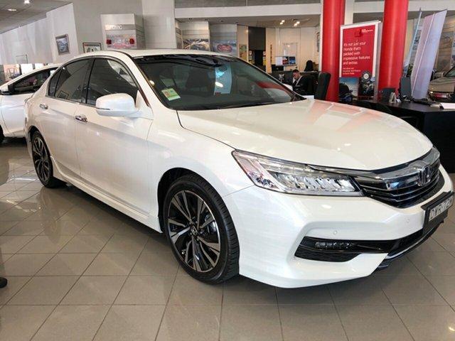 Demo Honda Accord 9th Gen MY17 V6L, 2018 Honda Accord 9th Gen MY17 V6L White Orchid 6 Speed Sports Automatic Sedan
