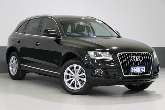 Used Audi Q5 8R MY17 TDI S tronic quattro, 2016 Audi Q5 8R MY17 TDI S tronic quattro Black 7 Speed Sports Automatic Dual Clutch Wagon