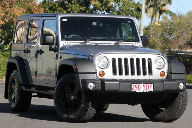 Used Jeep Wrangler JK MY2013 Unlimited Sport, 2013 Jeep Wrangler JK MY2013 Unlimited Sport Silver 5 Speed Automatic Softtop