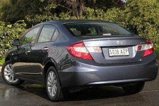 2013 Honda Civic 9th Gen Ser II MY13 VTi-LN Twilight Blue 5 Speed Sports Automatic Sedan.
