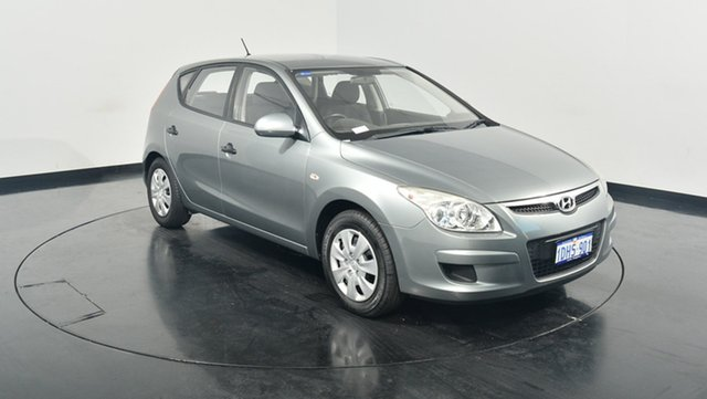 Used Hyundai i30 FD MY09 SX, 2009 Hyundai i30 FD MY09 SX Hyper Silver 4 Speed Automatic Hatchback