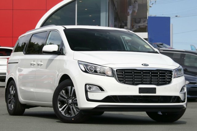 New Kia Carnival YP MY19 SLi, 2019 Kia Carnival YP MY19 SLi Clear White 8 Speed Sports Automatic Wagon