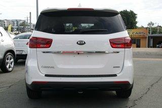 2019 Kia Carnival YP MY19 SLi Clear White 8 Speed Sports Automatic Wagon