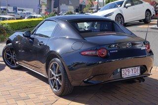 2017 Mazda MX-5 ND GT RF SKYACTIV-MT Jet Black 6 Speed Manual Targa.