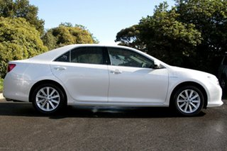 2013 Toyota Aurion GSV50R Prodigy Pearl White 6 Speed Sports Automatic Sedan