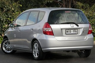 2002 Honda Jazz GD VTi Alabaster Silver 7 Speed Constant Variable Hatchback.
