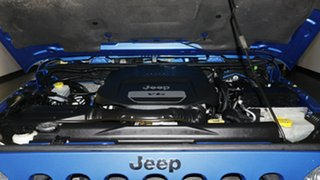 2014 Jeep Wrangler JK MY2014 Sport Hydro Blue 6 Speed Manual Softtop