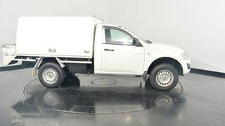 2014 Mitsubishi Triton MN MY15 GLX 4x2 White 4 Speed Sports Automatic Cab Chassis