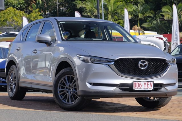 Demo Mazda CX-5 KF4WLA Touring SKYACTIV-Drive i-ACTIV AWD, 2018 Mazda CX-5 KF4WLA Touring SKYACTIV-Drive i-ACTIV AWD Sonic Silver 6 Speed Sports Automatic