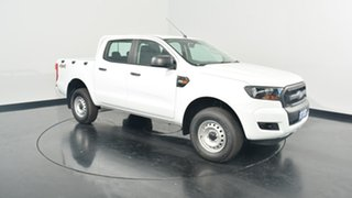 2017 Ford Ranger PX MkII XL Double Cab Frozen White 6 Speed Sports Automatic Utility.