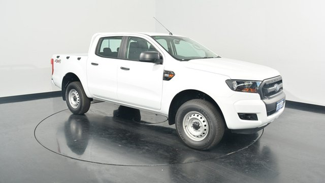 Used Ford Ranger PX MkII XL Double Cab, 2017 Ford Ranger PX MkII XL Double Cab Frozen White 6 Speed Sports Automatic Utility