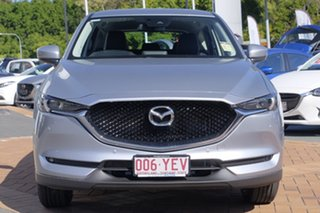 2018 Mazda CX-5 KF4WLA Touring SKYACTIV-Drive i-ACTIV AWD Sonic Silver 6 Speed Sports Automatic