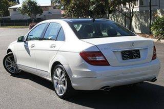 2013 Mercedes-Benz C300 W204 MY13 Elegance 7G-Tronic + White 7 Speed Sports Automatic Sedan.