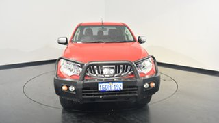 2016 Mitsubishi Triton MQ MY16 GLS Double Cab Red 5 Speed Sports Automatic Utility