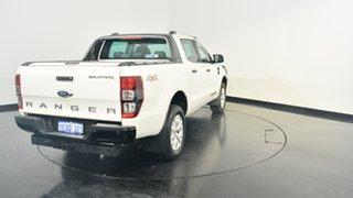 2012 Ford Ranger PX Wildtrak Double Cab White 6 Speed Manual Utility