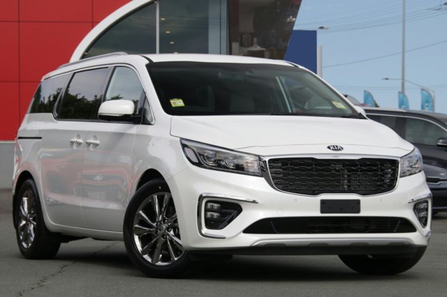 New Kia Carnival YP MY19 Platinum, 2018 Kia Carnival YP MY19 Platinum Snow White Pearl 8 Speed Sports Automatic Wagon