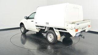 2014 Mitsubishi Triton MN MY15 GLX 4x2 White 4 Speed Sports Automatic Cab Chassis.