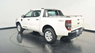 2012 Ford Ranger PX Wildtrak Double Cab White 6 Speed Manual Utility.
