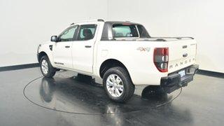 2012 Ford Ranger PX Wildtrak Double Cab White 6 Speed Manual Utility.