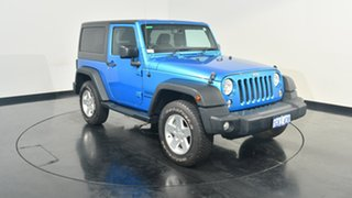 2014 Jeep Wrangler JK MY2014 Sport Blue 6 Speed Manual Softtop