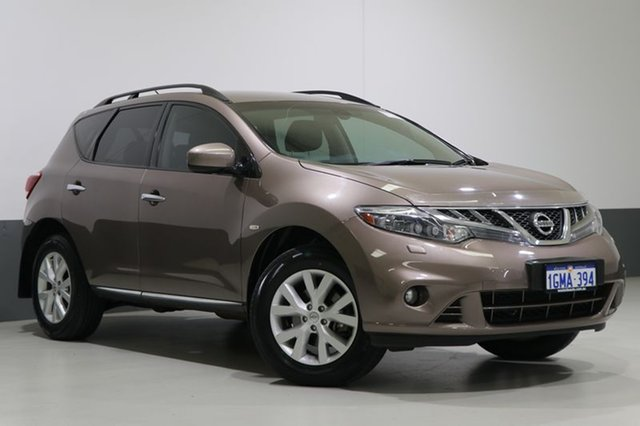 Used Nissan Murano Z51 MY12 ST, 2012 Nissan Murano Z51 MY12 ST Bronze Continuous Variable Wagon