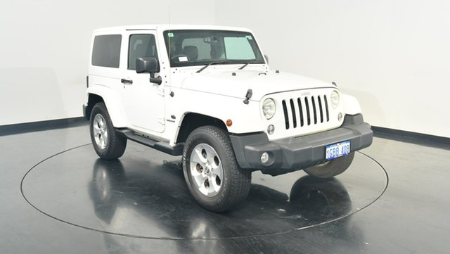 Used Jeep Wrangler JK MY2016 Overland, 2015 Jeep Wrangler JK MY2016 Overland White 5 Speed Automatic Hardtop