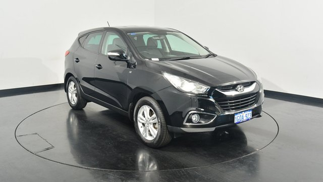 Used Hyundai ix35 LM2 SE, 2013 Hyundai ix35 LM2 SE Black 6 Speed Sports Automatic Wagon