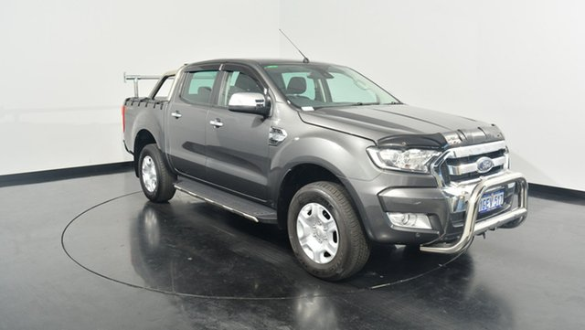 Used Ford Ranger PX MkII XLT Double Cab 4x2 Hi-Rider, 2017 Ford Ranger PX MkII XLT Double Cab 4x2 Hi-Rider Grey 6 Speed Sports Automatic Utility