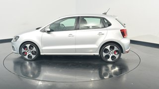 2013 Volkswagen Polo 6R MY13.5 GTI DSG Silver 7 Speed Sports Automatic Dual Clutch Hatchback.