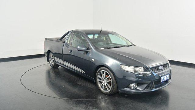 Used Ford Falcon FG XR6 Ute Super Cab Limited Edition, 2011 Ford Falcon FG XR6 Ute Super Cab Limited Edition Black 6 Speed Sports Automatic Utility