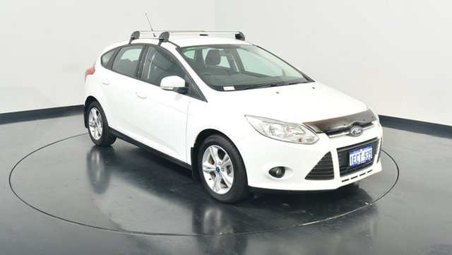 Used Ford Focus LW Trend PwrShift, 2012 Ford Focus LW Trend PwrShift White 6 Speed Sports Automatic Dual Clutch Hatchback